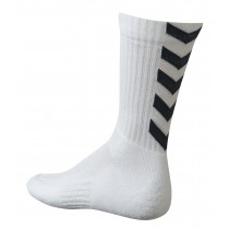 Chaussettes Authentic Indoor blanc/noir