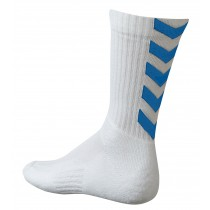 Chaussettes Authentic Indoor blanc/bleu