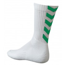 Chaussettes Authentic Indoor blanc/vert