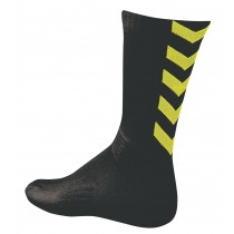Chaussettes Authentic indoor noir/ jaune fluo